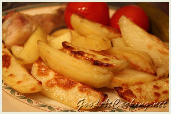 Рецепт картофеля в духовке с фото