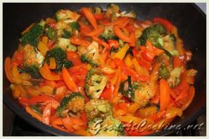 Рецепт овощной пасты с пошаговыми фото