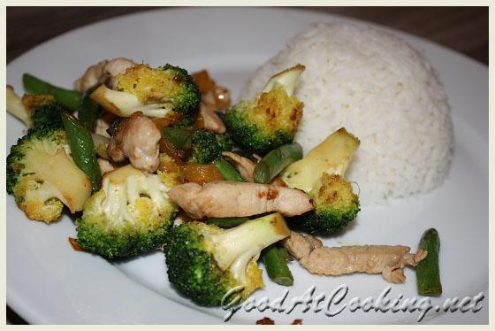 Рецепт овощей в китайском стиле с фото
