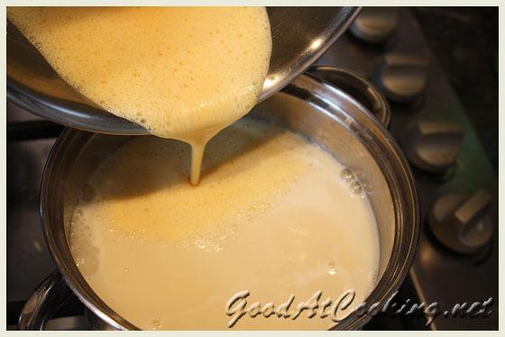 Рецепт ванильного пудинга с пошаговыми фото