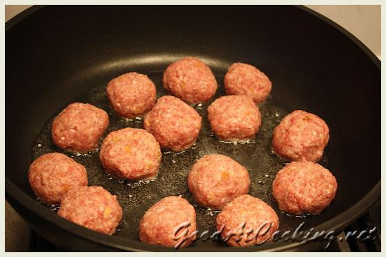 Рецепт фрикаделек с овощами с пошаговыми фото