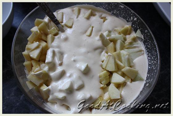 Рецепт шарлотки с яблоками с пошаговыми фото
