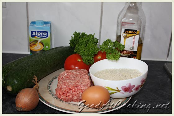 Рецепт фаршированных кабачков с пошаговыми фотографиями