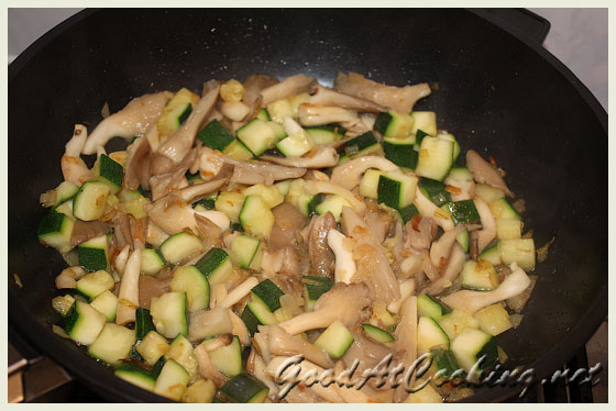 Рецепт фрикаделек с грибами и кабачком с пошаговыми фотографиями