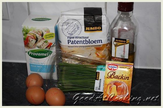 Рецепт маффинов с сыром тофу и шнитт-луком с пошаговыми фотографиями
