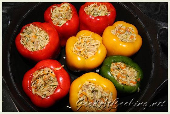 Рецепт фаршированных перцев с пошаговыми фотографиями