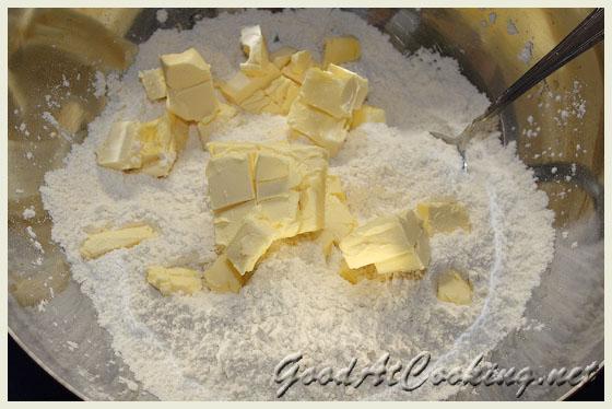 Рецепт песочного печения с пошаговыми фотографиями