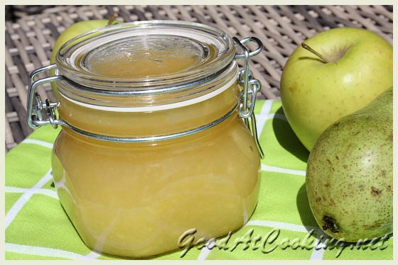 Рецепт варенья из груш и яблок с пошаговыми фотографиями