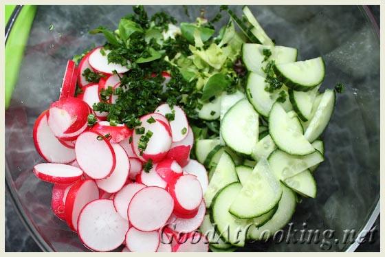 Рецепт мясных корзинок со свежим салатом с пошаговыми фото