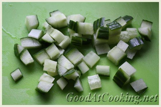Рецепт салата с киноа и сыром тофу с пошаговыми фотографиями