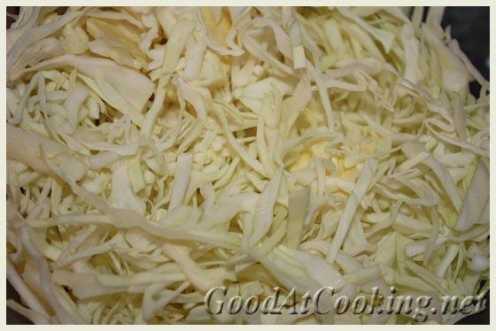 Рецепт салата из белой капусты со сладким перцем с пошаговыми фото