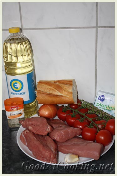 Рецепт свиной вырезки в хлебной крошке с пошаговыми фото