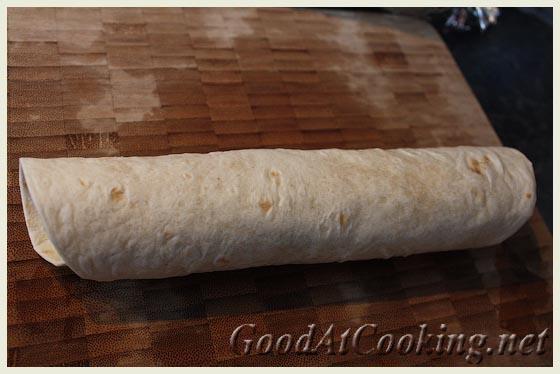 Рецепт врапа с индейкой с пошаговыми фотографиями