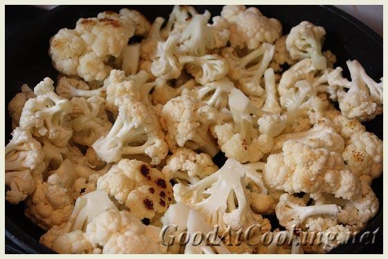 Рецепт цветной капусты с куриным филе с пошаговыми фотографиями