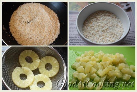 Рецепт маффинов с кокосом и ананасами с пошаговыми фотографиями