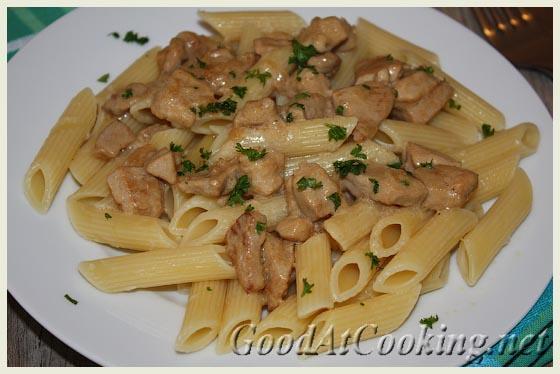 Рецепт пасты со сливочным рагу с пошаговыми фотографиями