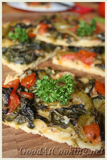 Рецепт овощного тарта с пошаговыми фотографиями