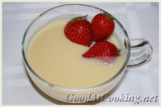 заварной крем без молока рецепт с фото