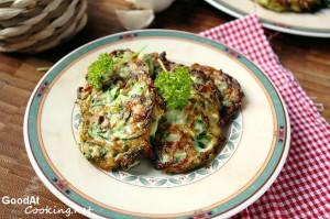 Рецепт кабачковых оладий с пошаговыми фотографиями