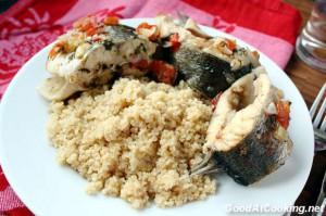Рецепт кускуса со свежей рыбой по-сицилийски с пошаговыми фото
