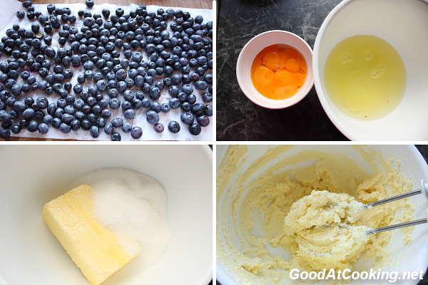 Рецепт пирога с черникой и меренгой с пошаговыми фотографиями