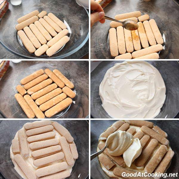Как приготовить торт тирамису в домашних условиях с фото