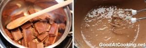 Рецепт ванильно-шоколадного мороженого с пошаговыми фотографиями