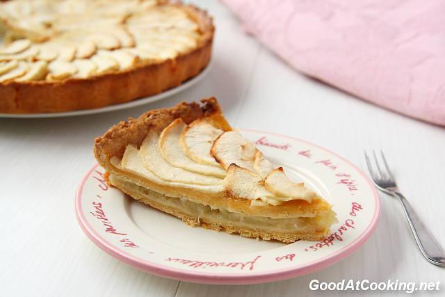 Рецепт двойного яблочного пирога с пошаговыми фотографиями
