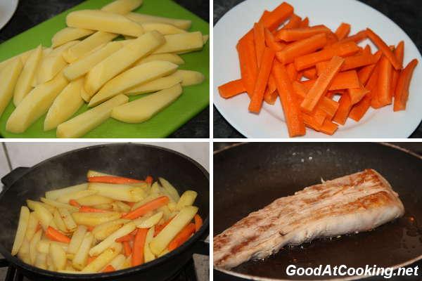 Рецепт свиной вырезки с тушеными овощами с пошаговыми фото