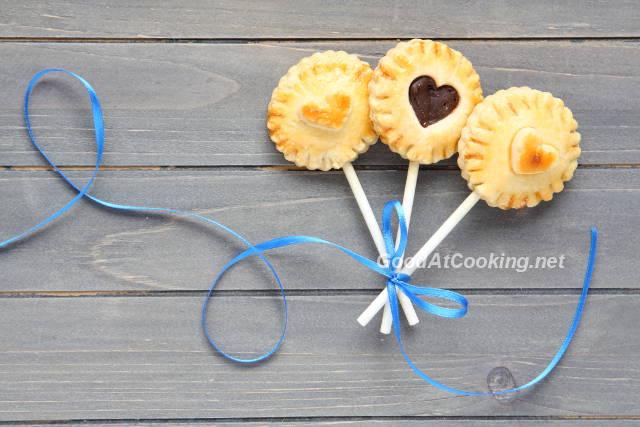 Рецепт Pie pops - песочного печения на палочке с пошаговыми фото