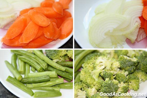 Рецепт куриного стир фрая с овощами с пошаговыми фото