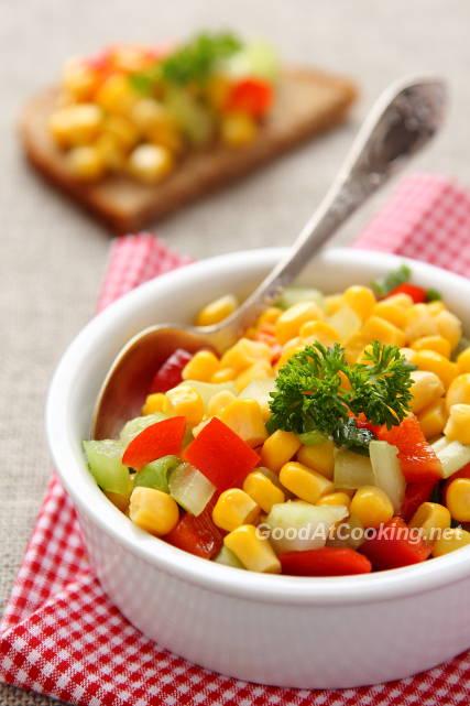 кукурузная сальса