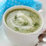 Рецепт холодного огуречно-йогуртового супа с пошаговыми фотографиями