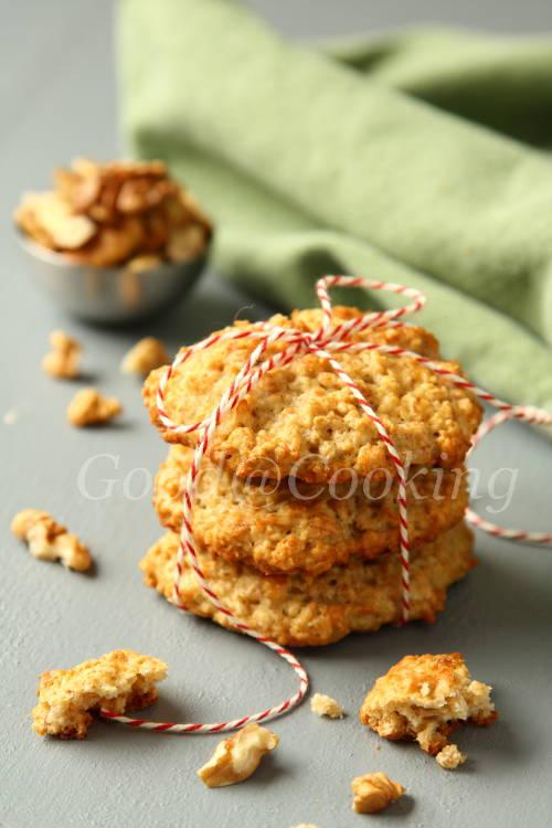 Рецепт овсяного печенья с бананами с пошаговыми фотографиями