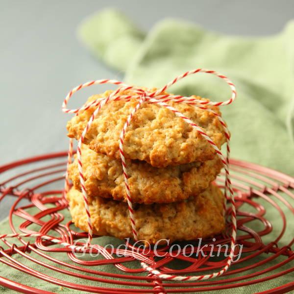 Рецепт овсяного печенья с бананами с пошаговыми фотографиями, GoodAtCooking