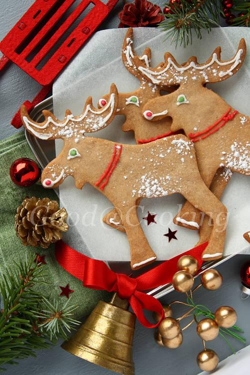 Рецепт рождественского печенья с пошаговыми фотографиями