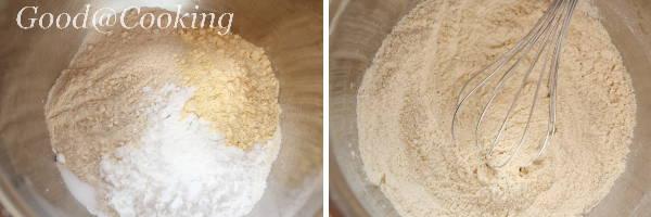 Recept van glutenvrije pannenkoeken met foto's