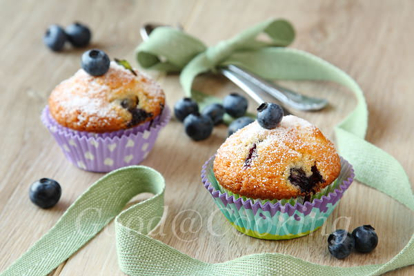 Blueberry muffins recipe with step by step photos