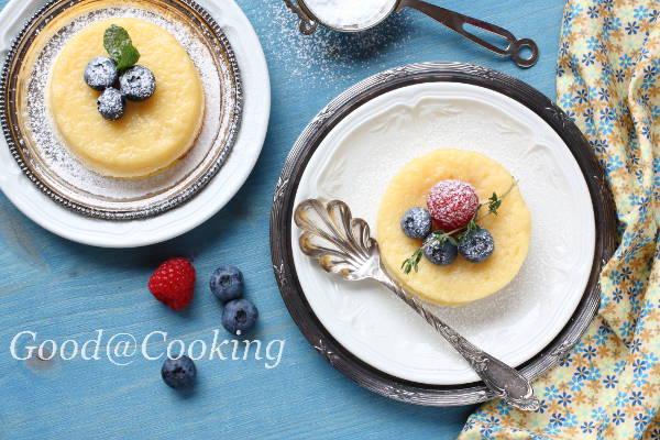 Рецепт лимонного пудинга с пошаговыми фото