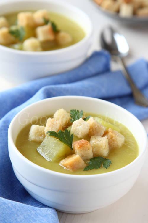 Recept van soep van zoete aardappel