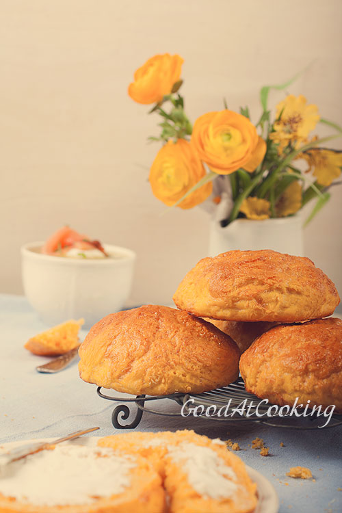 Рецепт морковных булочек с пошаговыми фотографиями