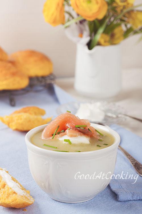 Рецепт сливочного супа из лука порея с пошаговыми фотографиями
