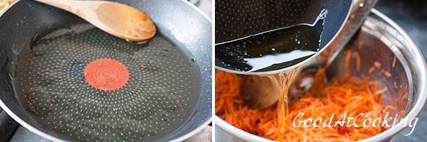 Рецепт корейской моркови с пошаговыми фотографиями