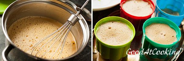 Рецепт кофейной панна котты с пошаговыми фотографиями
