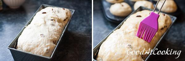 Рецепт хлеба с изюмом с пошаговыми фотографиями