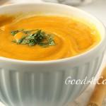 Морковный суп-пюре с кокосовым молоком