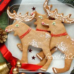 Рождественское печение в форме животных