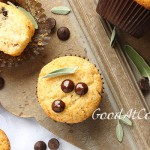 Gluten free muffins with chocolate drops