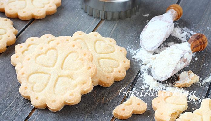 рецепт песочного печенья с рисовой мукой