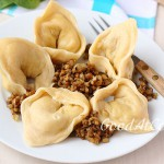 Тортеллони с картофелем и грибами